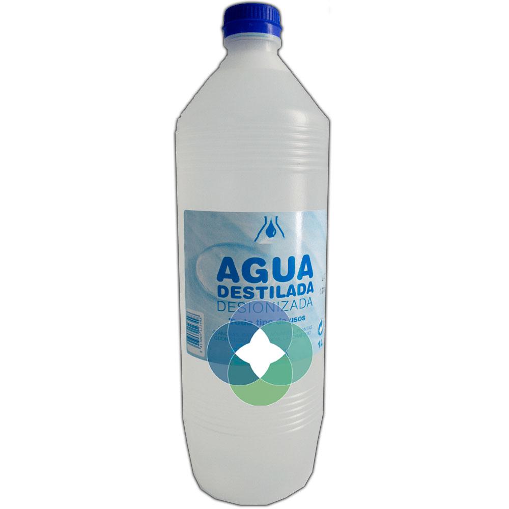 Agua desionizada / destilada.