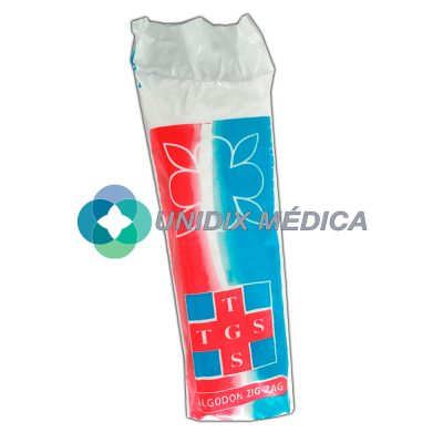 Algodón Zig-Zag Tegosa Medical 100 gramos