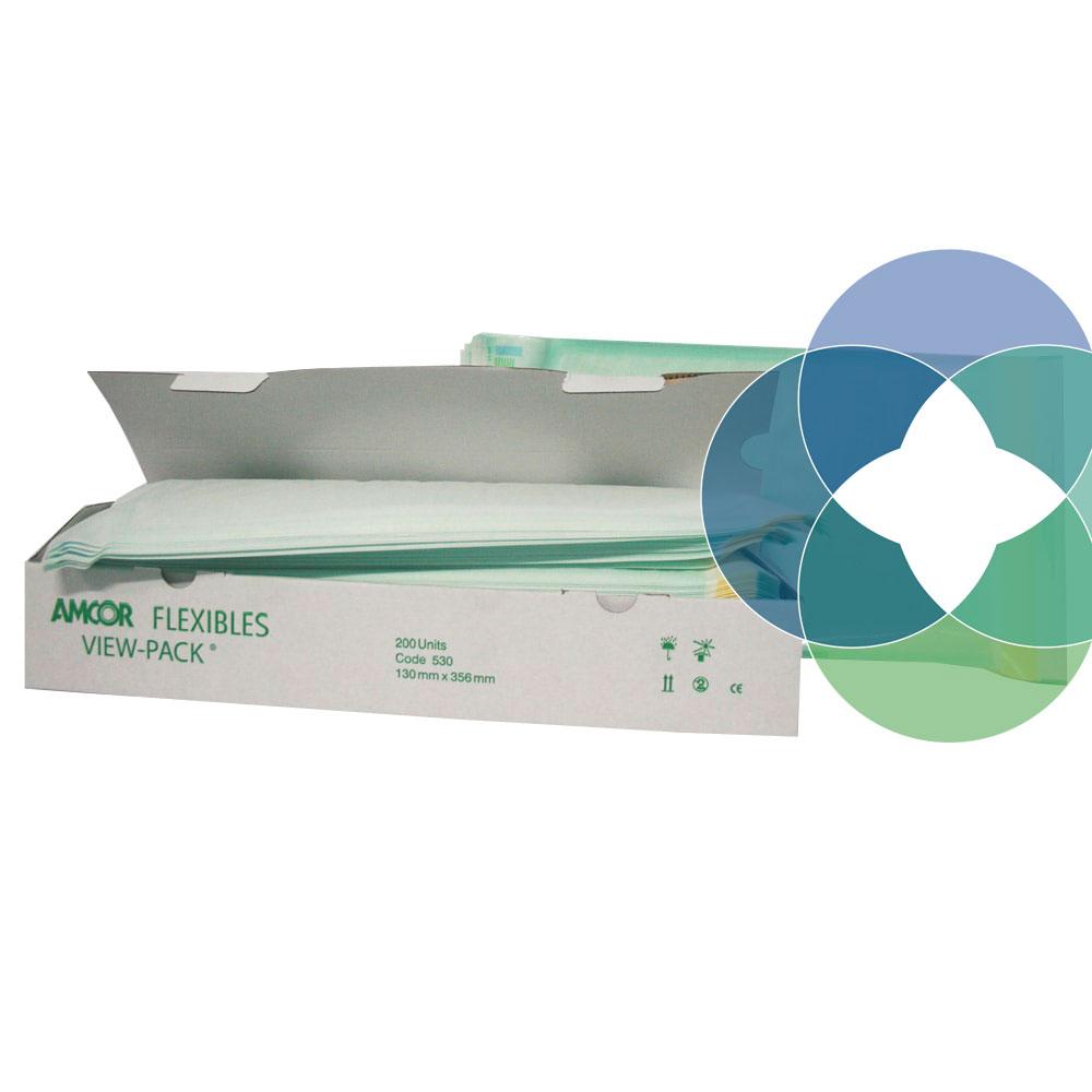 Bolsa autoadhesiva para esterilización View-Pack de Amcor