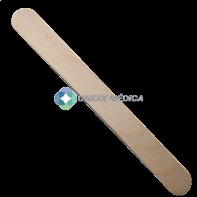 Depresor lingual de madera no estéril
