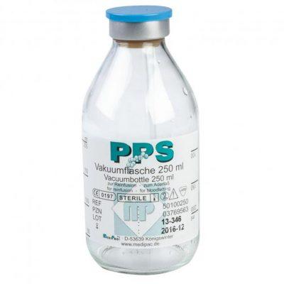 Botella de vacío PPS para drenajes