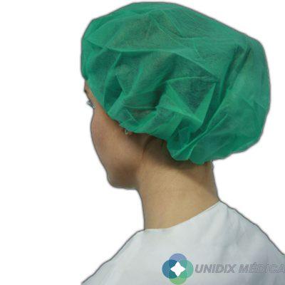 Gorro de enfermera verde Unidix