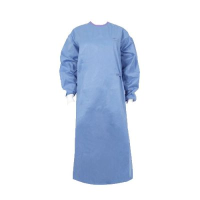 Bata quirúrgica azul OPS Advanced Medline