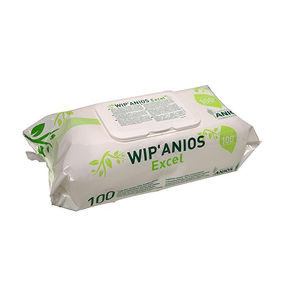 Toallitas desinfectantes de superficies e instrumental médico Wip Anios
